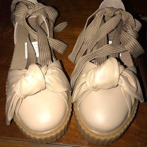 FENTY Puma Rihanna Creeper Leather sandal